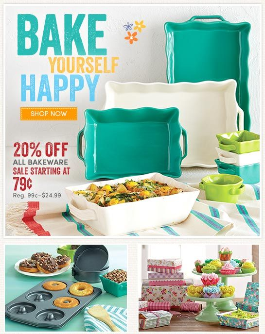 Save 20% on All Bakeware