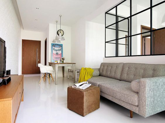 Scandi industrial and retro all rolled into one home Singapore