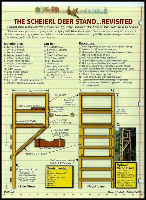 Make your own ladder stand deer hunting pinterest for Build your own deer stand