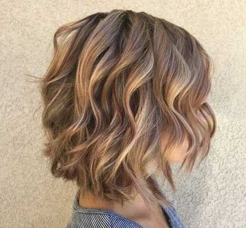 35++ Pictures of wavy bobs trends