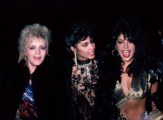 Brenda, Vanity & Apollonia. Oh? And where's Susan?: