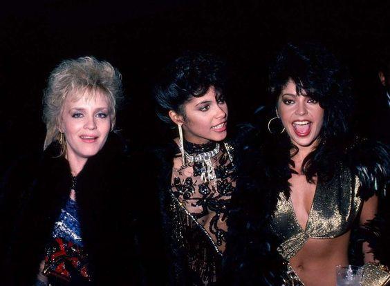 Brenda, Vanity & Apollonia. Oh? And where's Susan?: