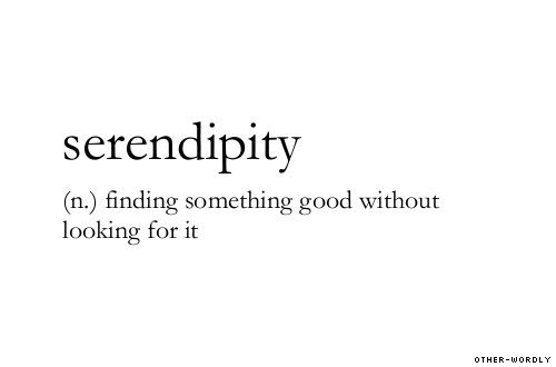 Favourite word.