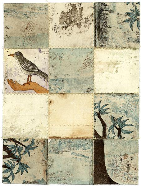 Piia Lehti: Collection No 57, stitched graphic, 2014