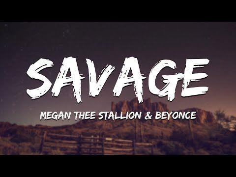 Megan Thee Stallion Savage Remix Ft Beyonce Lyrics Youtube In 2020 Beyonce Lyrics Beyonce Funny Beyonce