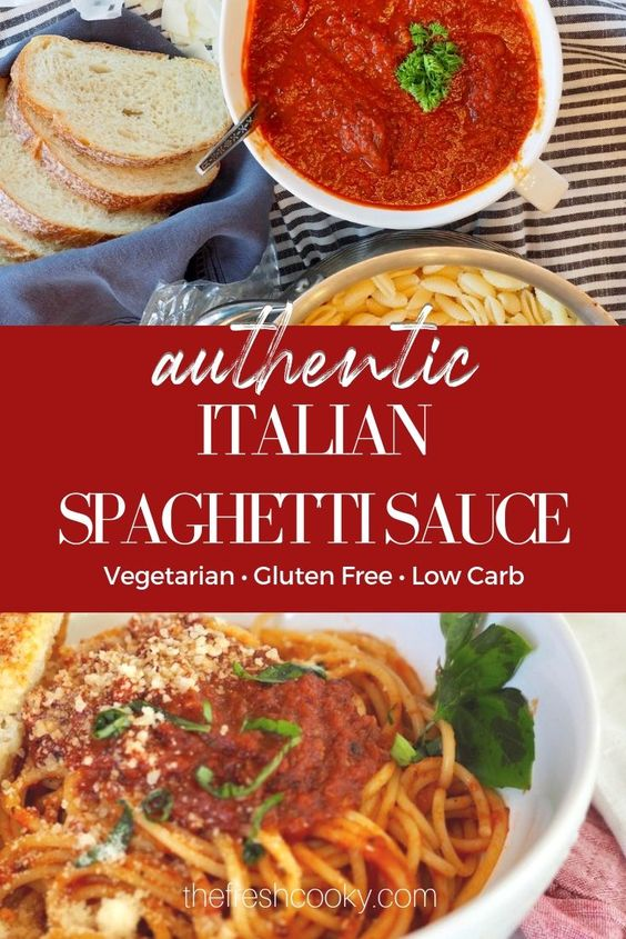 Authentic Italian Spaghetti Sauce
