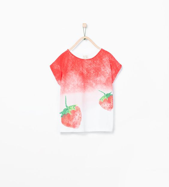 Tabitha already has this shirt.. I'll be pairing this with her mini mel strawberry shoes and viola! It's a strawberry day for us!: