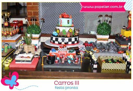 O 3º grande prêmio do Bernardo - a festa pronta