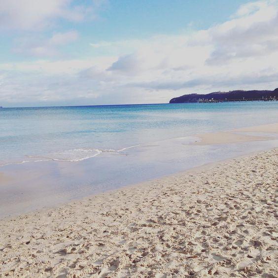 Frische Morgengrüße von der Küste #strandleben #imnovember #rügen #binz #sonnetanken #wirzweiumdiewelt