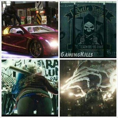 Things from suicide squad that l want tobe inside of.