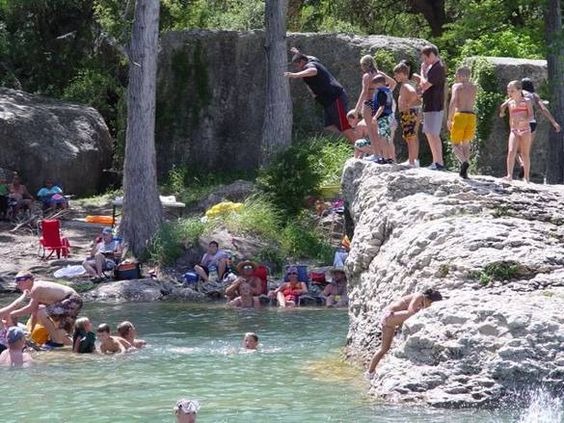 Swimming Holes Lodges And Rock On On Pinterest