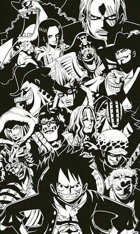 One Piece Pirates Desenho De Anime Personagens De Anime