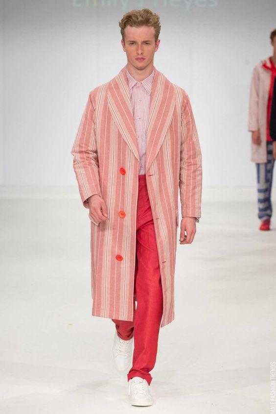 University of Salford Fall/Winter 2015 - Graduate Fashion Week - Male Fashion Trends