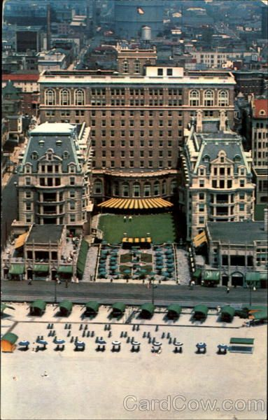 The Terrace Hotel Dennis Atlantic City Nj Vintage Pinterest And