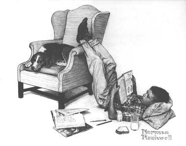 norman rockwell drawings | Norman Rockwell: DrawingThe American Dream