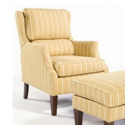 Arnie Press Back Wing Chair By Sam Moore Gardiners Furniture High Leg Recliner Baltimore