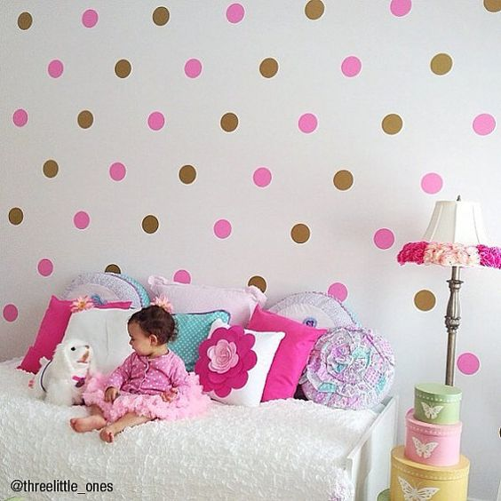 Dicas pra Mamãe: Ideias de paredes decoradas com papel contact - Quarto infantil