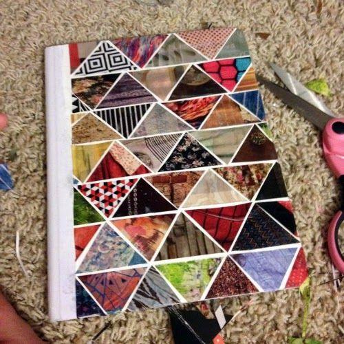 DIY : Geometric Journal
