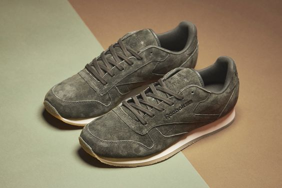 size? x Reebox Re/Cut Classic Leather Crepe: