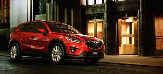 2013 #Mazda #CX5 in Zeal Red Mica