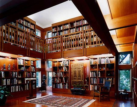 Library of bill gates google search home libraries - Building a home library ...