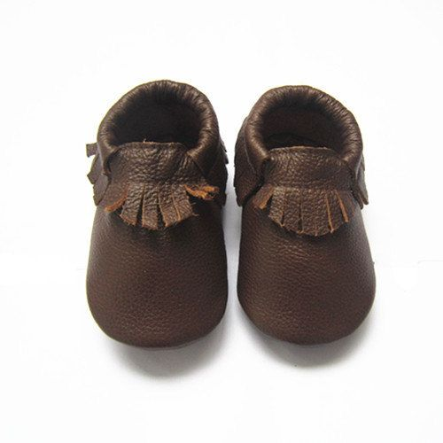 Chocolate Brown Moccs, Baby Moccasins, Chocolate, Brown, Moccs ...