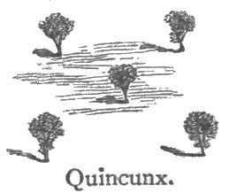 Quincunx planting