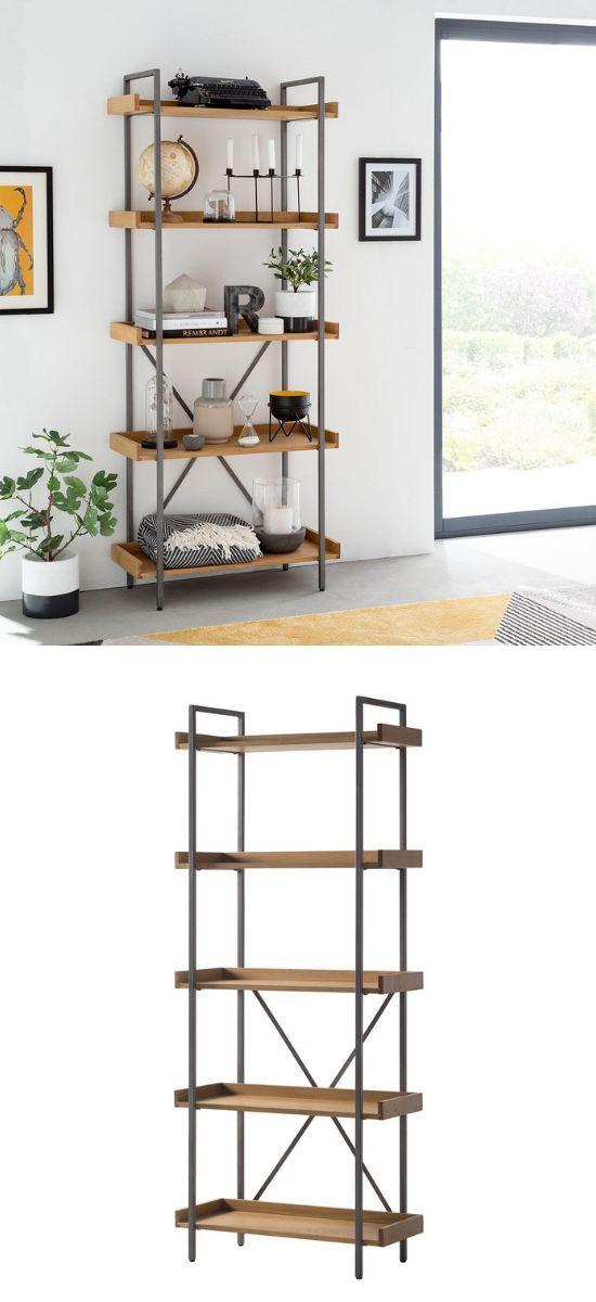 Wohnzimmer Regal Im Skandinavischen Stil Skandi Home