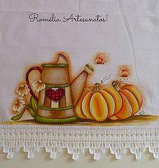 Pano de Prato - pintura tecido (romelia.artesanatos) Tags: pintura tecido…