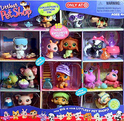 Littlest Pet Shop Lps Exclusive Collectors Edition Tin Wi Https Www Amazon Com Dp B000ftglwc Ref Cm Sw R Lps Pets Littlest Pet Shop Lps Littlest Pet Shop