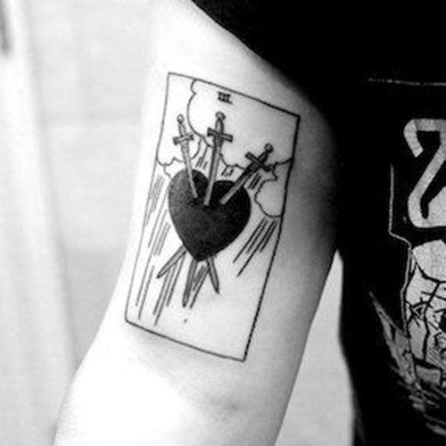 75 Best Heart Tattoos For Men Cool Designs Ideas 2019 Guide Tattoos For Guys Promise Tattoo Heart Tattoo