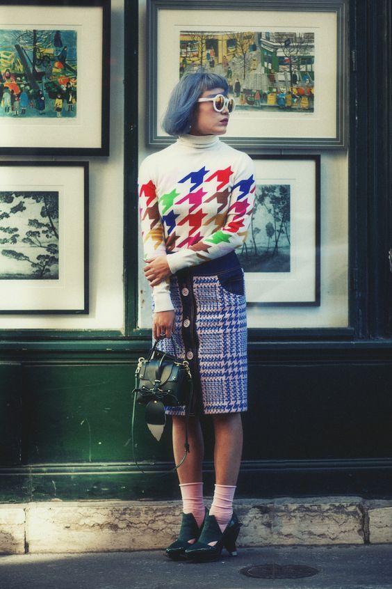 From Paris Fashion Week #pfw #parisfashionweek #streetstyle