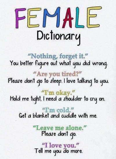 Female Dictionary