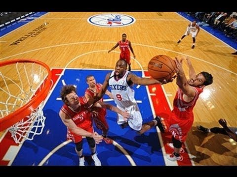 ▶ James Anderson Sets New Career High in OT Win! - James Anderson scored 36 points, a new career-high in the 76ers win over the Rockets. Visit nba.com/video for more highlights.