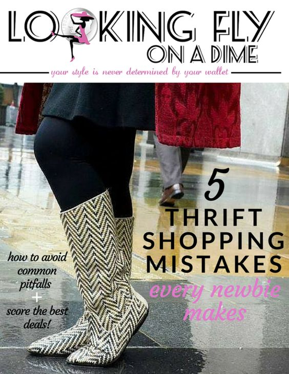 If you always find yourself striking out at the thrift store, this free downloadable guide is for you!