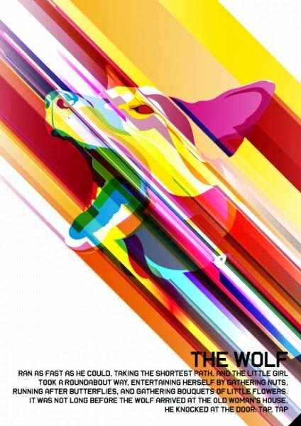 The amazing The Wolf - Poster