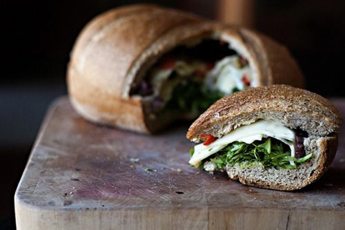Family style sandwich