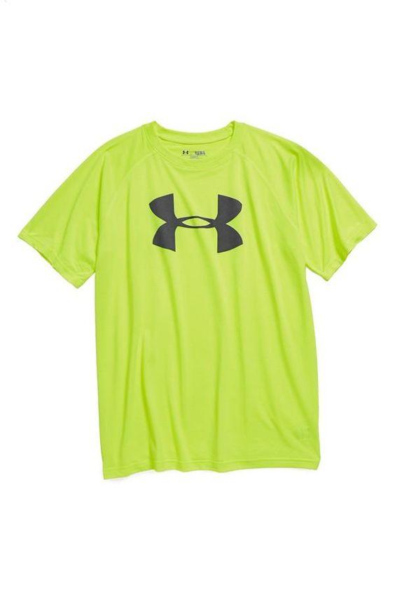 Cute colors! Athletic t-shirt:  Tee Shirt, Under Armour Baby Boy, Boys Under Armour, Under Armour Boys,  T-Shirt, Baby Boy Under Armour, Baby Clothes Under Armour, Logo T Shirts, Baby Boy Stuff Clothes
