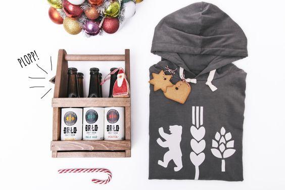 Weihnachten und die kalte Jahreszeit stehen kurz vor der Tür! #Bier #Hoodie - aus dem #SUPR #Shop #BRLO