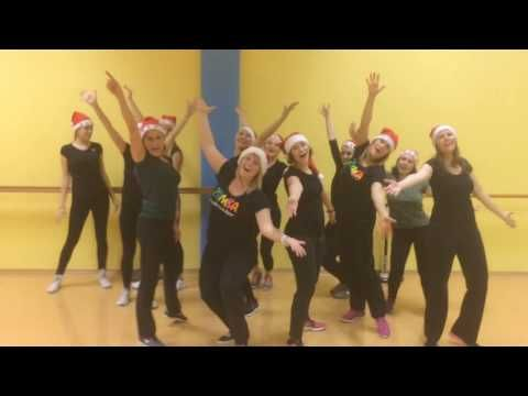 Zumba With Meta All I Want For Christmas Is You Youtube Zumba Zumba Instructor Dance Tips