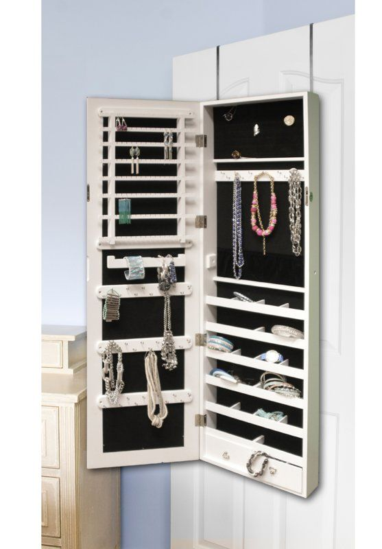 Berger Over The Door Jewelry Armoire With Mirror Mirror Jewelry Armoire Jewelry Armoire Mirrored Armoire
