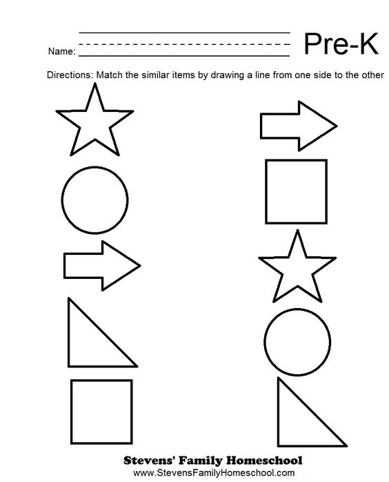 Worksheets Pre K Worksheets Math math worksheets and on pinterest free pre k matching 2