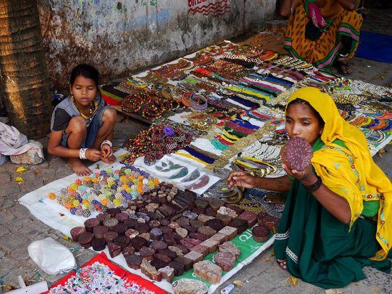 A street stall in Cochin