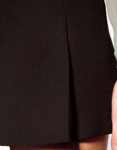 BOX PLEAT BERMUDA SHORTS - Trousers - Woman - ZARA $36