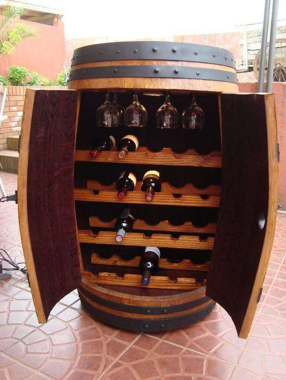 Cava licorera bar 6 licoreras casa pinterest for Barriles de vino