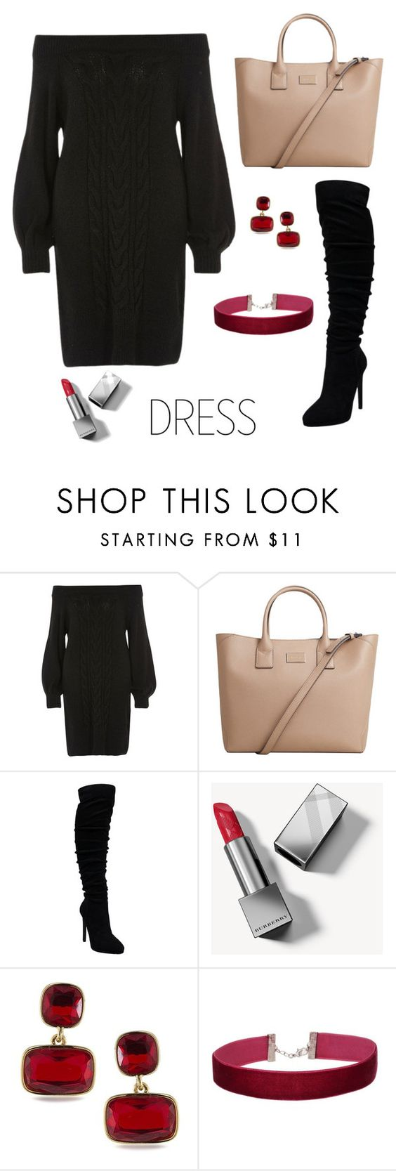 """""""Untitled #441"""" by style75 ❤ liked on Polyvore featuring River Island, MANGO, Burberry, Lauren Ralph Lauren and Miss Selfridge"""
