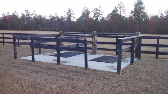 Outdoor wash rack #elitebarns... I love two entries into the wash rack, easy to enter/exit, and good for if anyone freaks out