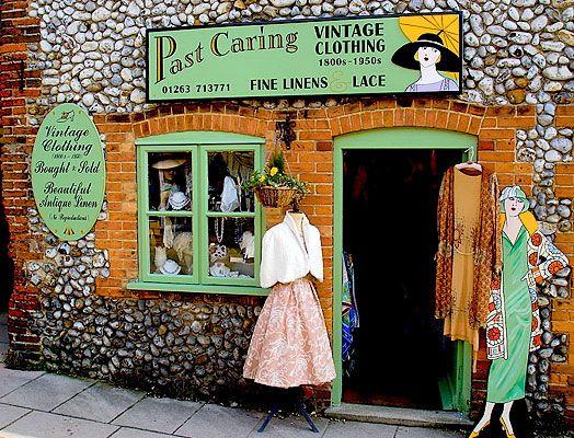 Vintage Shop Exteriors & Store Fronts •~• Past Caring Vintage ...