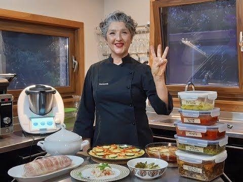 Batch Cooking Cocina En 3 Horas Para Toda La Semana Con Thermomix Tm6 Tm5 Tm31 Youtube Recetas Thermomix Tm5 Recetas Thermomix Recetas De Thermomix
