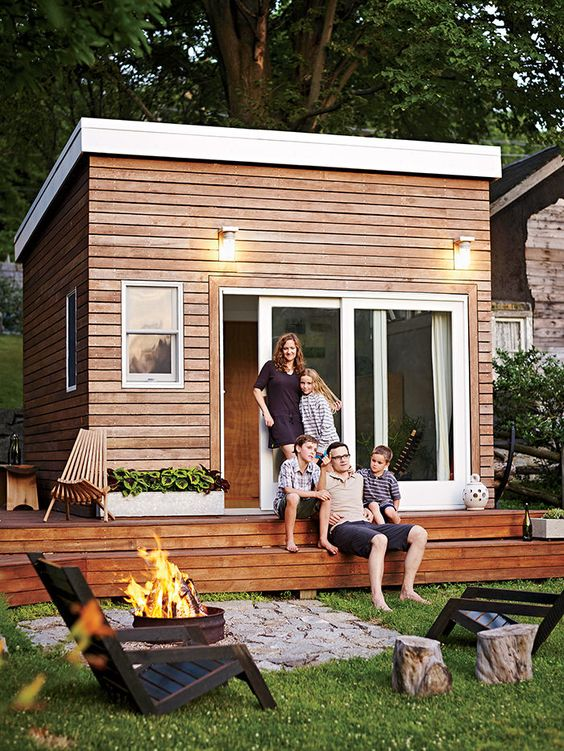 Build Tiny House In Backyard : chairs tiny house house murphy beds outdoor showers tim o brien tiny